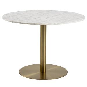 Hvidt marmor ACT NORDIC Corby spisebord